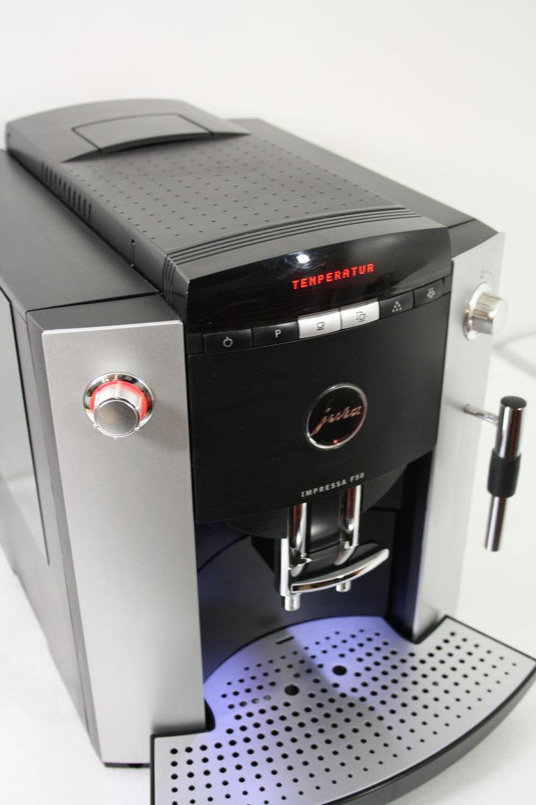 kaffeevollautomat jura impressa f50 top zustand ebay. Black Bedroom Furniture Sets. Home Design Ideas
